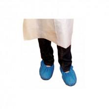 Cubrezapatos Elásticos Un Solo Uso 34 x 14 cm (Caja 100 Uds)