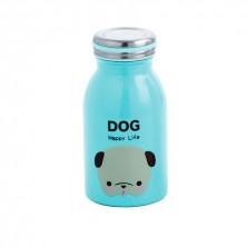 Termo Botella Perro Inox 26 cl