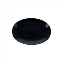 Fuente Oval Rocca Gris 26x18 cm (Caja 12 Uds)