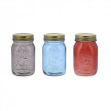 Bote Vidrio Colores Surtidos Arizona 50 cl (Pack 6 uds)