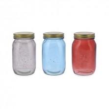 Bote Vidrio Colores Surtidos Arizona 1 L (Pack 6 uds)