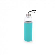 Botella Con Funda Azul Quidate 0,60 L