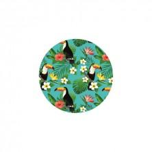 Set 4 Posavasos Tucanes 9 cm