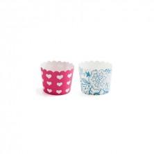 Set 24 Cupcakes Redondas Mi taller 5x4,5 cm