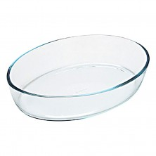 Fuente Oval Pyrex 35x24x7 cm