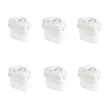 Set 6 Filtros Para Jarra De Agua Single Life Aqua Optima