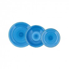 Vajilla Vita Azul 18 Piezas