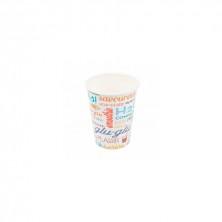 Vasos Cartón Para Bebidas Frías Parole 270 ml (Pack 100 Uds)