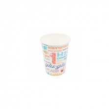 Vasos Cartón Para Bebidas Frías Parole 360 ml (Pack 100 Uds)