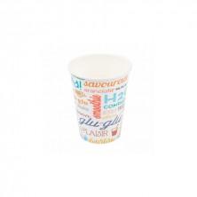 Vasos Cartón Para Bebidas Frías Parole 480 ml (Pack 50 Uds)