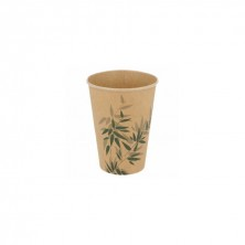 Vasos Cartón Para Bebidas Frías Feel Green 360 ml (Pack 100 Uds)