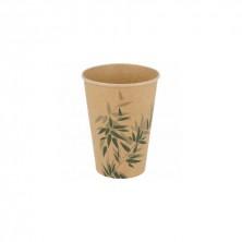 Vasos Cartón Para Bebidas Frías Feel Green 480 ml (Pack 50Uds)