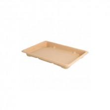 Shushi Box Bionic Caña De Azúcar Natural 18,5 x 13 x 1,5 cm (Pack 50 Uds)
