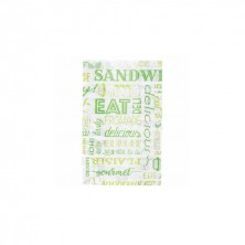 Bolsas Papel Verde 12 + 7 x 18 cm (Pack 500 Uds)