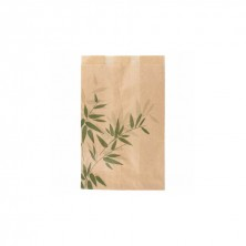 Bolsas Papel Feel Green 12 + 7 x 18 cm (Pack 500 Uds)