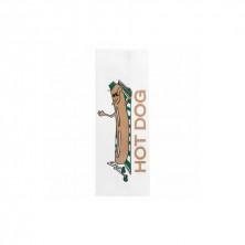 Bolsa Papel Hot Dog 12 + 7 x 18 cm (Pack 500 Uds)