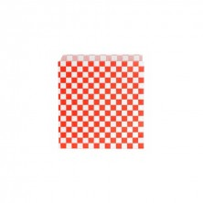 Bolsas Burger / Pizza Fitipaldi Rojo 17 x 18 cm (Pack 500 Uds)