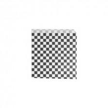 Bolsas Burger / Pizza Fitipaldi Negro 17 x 18 cm (Pack 500 Uds)