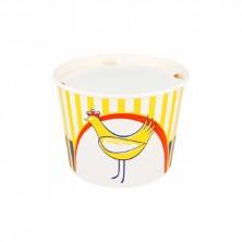 Cubo Para Pollo Con Tapa 2.550 ml (Pack 50 Uds)