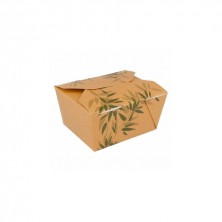 Cajas Americanas Estancas Feel Green 780 ml (Pack 50 Uds)