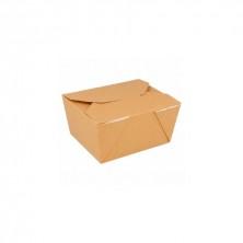 Cajas Americanas Estancas Natural 780 ml (Pack 50 Uds)