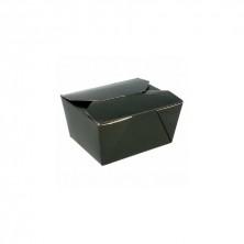 Cajas Americanas Estancas Negras 1.350 ml (Pack 50 Uds)