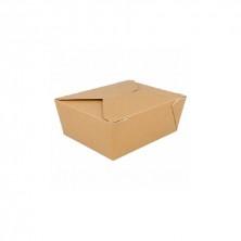 Cajas Americanas Estancas Natural 1.350 ml (Pack 50 Uds)