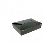 Cajas Americanas Estancas Negras 1.470 ml (Pack 50 Uds)