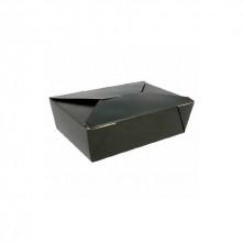 Cajas Americanas Estancas Negras 1.980 ml (Pack 50 Uds)