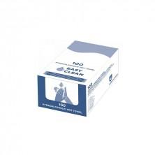 Toallitas Hidroalcohólicas Easy Clean 6 x 8 cm (Caja de 100 Uds)