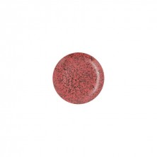 Plato Llano Oxide Rojo 21 cm