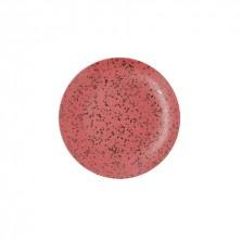 Plato Llano Oxide Rojo 31 cm