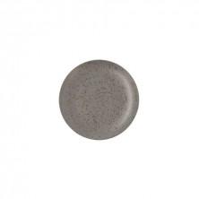 Plato Llano Oxide Gris 24 cm