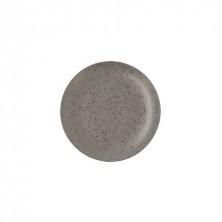 Plato Llano Oxide Gris 27 cm