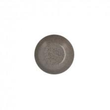 Plato Hondo Oxide Gris 21 cm