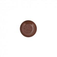 Plato Hondo Oxide Marrón 21 cm