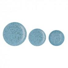 Vajilla Oxide Azul 18 piezas