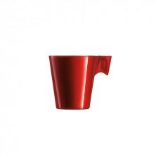 Taza Flashy Longo Rojo 22 cl