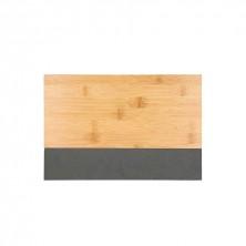 Tabla Bambú Con Pizarra Alma 30 x 20 x 1,5 cm
