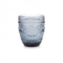 Vasos Flor Azul 30 cl (Caja 6 Uds.)