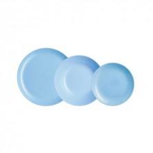 Vajilla Diwali Azul 18 Piezas