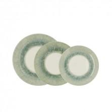 Vajilla Oracle Verde 18 Piezas