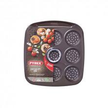 Bandeja Mini Pizzas Asimetría 30 x 27,5 x 1,7 cm