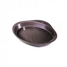 Fuente Oval Asimetría 35 x 23 cm.