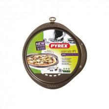 Fuente Redonda Pizza Asimetría 32 cm.