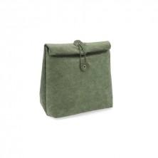 Bolsa Térmica Enrollable Verde Mi Planeta 21 x 11 x 32 cm