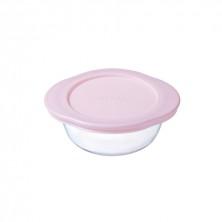 Recipiente Redondo Rosa Baby Storage 0,35 cl.