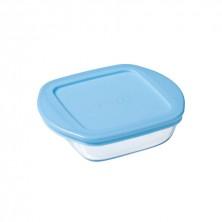 Recipiente Cuadrado Azul Baby Storage 0,35 cl.