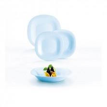 Vajilla Carine Azul 19 Piezas