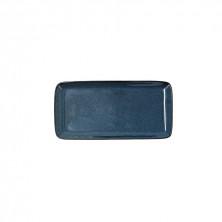 Fuente Rectangular Ikonic Azul 28 x 14 cm.